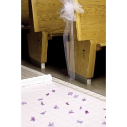 Basic White Aisle Runner