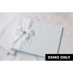 White Lace Guest Book